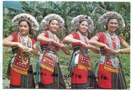 - Taiwan - Amis Aboriginal Dance -  Non écrite, Belles Couleurs, Grand Format, Scans. - Taiwan