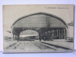 82 - MONTAUBAN -MARQUISE DE LA GARE - ANIMEE - Montauban