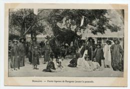 BIRMANIE - PETITS LEPREUX DE RANGOON JOUANT LA PASTORALE - Myanmar (Burma)