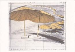 CP Les Parasols - Christo - Projet Pour Le Japon Et L'Ouest Des Etats-Unis - Altre Illustrazioni