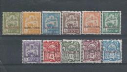 Kouang-Tchéou N° 73:86 *   T.B Manque Le 79/80/83 2 T. Oblitéré