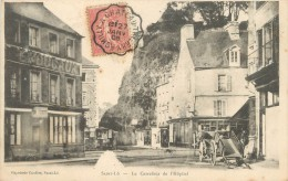 """/ CPA FRANCE 50 """"Saint Lô, Le Carrefour De L'hôpital"""" / CACHET AMBULANT - Saint Lo"""