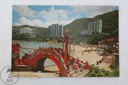 Vintage Real Photo Postcard Of China, Hong Kong - Beautiful Scenary Of Repulse Bay - China