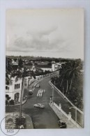 Old Guinea Real Photo Postcard - Avenida General Mola - Sta. Isabel - Provincia De Fernando Pó / Bioko - Military Troops - Guinea