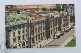 Old Colombia Postcard - Departmental Palace - Bogotá - Colombia