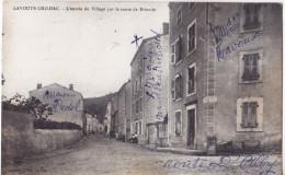 LAVOUTE CHILHAC- L'entrée Du Village Par La Route De Brioude. - France