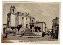 CO392     SIRACUSA - LENTINI - VIA CONTE ALAIMO E CHIESA S. FRANCESCO - Siracusa