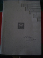 "STADE DE FRANCE - DOSSIER ´INAUGURATION DU STADE "" -EN 1996 - Libri"