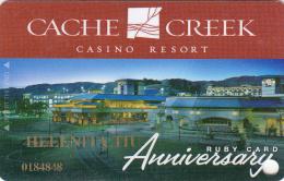 Casino Cache Creek - Pearl Card Anniversary - Brooks - Calfornia - USA