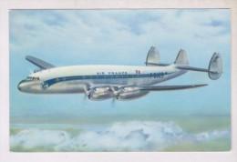 CPM AIR FRANCE LOCKHEED CONSTELLATION - 1946-....: Moderne