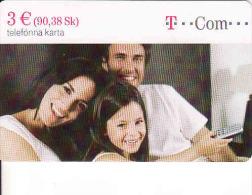 Slovaquie 2009,T-Com Chip, 1/2009, Tirage  30000, Used - Slowakei