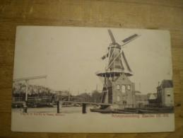 Haarlem // Molen De Adriaan (niet Standaard) No 7 Met Scheepmakersbrug   // Ca 1900 Vroege NAUTA 209 - Haarlem