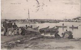 PORT DE LA TESTE (PECHEURS ET BARQUES) 1905 - Autres Communes