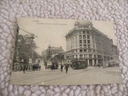 A280. CPA. ESPAGNE. MADRID. Calle De Atocha Y Hotel Nacional.    Beau Plan Animé. Non écrite - Madrid