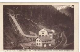 Le Chatelard Usine Electromotrice Du Chemin De Fer De Chamonix - France