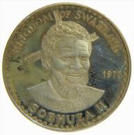 SWAZILAND - KINGDOM Of SWAZILAND  - 10 EMALANGENI (1975) - SOBHUZA II / SILVER COIN - Swasiland
