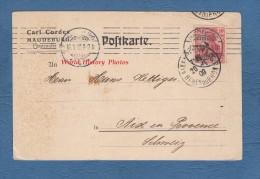 CPA - MAGDEBURG - Maison Carl CORDES - Fürstenufer 15. - 1909 - Magdeburg