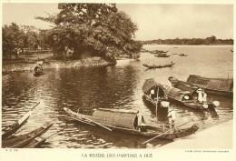 HUE La Rivière Des Parfums Annam VIET NAM (Agence Economique Indochine) - Fiches Illustrées