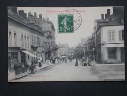 Ref4129 JU CPA Animée De Commentry (Auvergne) - Rue De La Mine Commerces Tabac 1907 - Commentry
