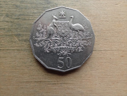 Australie 50 Cents 2001 Anniversaire - Monnaie Décimale (1966-...)