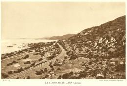 La Corniche De CANA Route Mandarine & Voie Ferrée Annam VIET NAM (Agence Economique Indochine) - Schede Didattiche