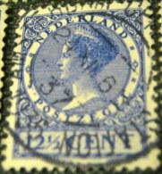 Netherlands 1928 Queen Wilhelmina 12.5c - Used - 1891-1948 (Wilhelmine)