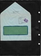 Trieste A 1951 Recapito Autorizzato 15 Lire Su Lettera (Ref 143) - Storia Postale