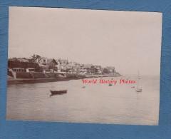 Photo ancienne - Petit port � identifier - Cote Atlantique - Bretagne