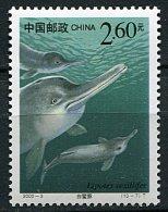 (cl.28 - P17) Chine** N° 3779 (ref. Michel Au Dos) -  Dauphins - - Neufs