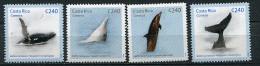 (cl.28 - P17) Costa Rica ** N° 863 à 866  (ref. Michel Au Dos) -  Baleines Et Dauphins - - Costa Rica