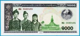 LAOS  1000 KIP  2003 Serie MG 2680495  P#32Ab - Laos