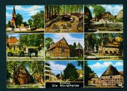 GERMANY  -  Nordheide  Multi View  Used Postcard As Scans - Germany