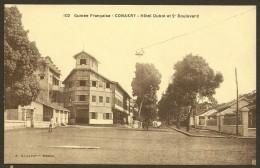 CONAKRY Hôtel Dubot Et 2° Boulevard (Albaret) GUINEE Afrique - Guinée Française