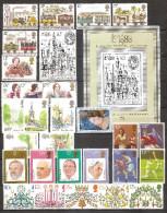 Great Britain -  Lot Unused Stamps 1980