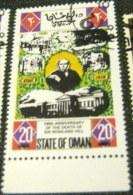 Oman 1979 100th Death Of Sir Rowland Hill 20b - Used CTO - Oman