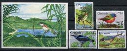 Grenada          2508/2511 **  BF  372  **    Oiseaux/birds