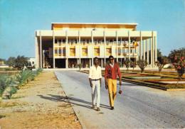Afrique TCHAD-FORT LAMY Palais des Congr�s et Maison du Parti Timbre stamp FRANCHISE MILITAIRE cachet Base A�rienne 172