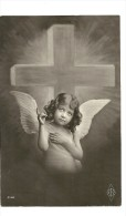 Petite Ange Et Croix. 1916 - Anges