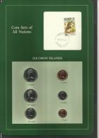 SOLOMON ISLANDS - Set Of 6 Uncirculated Coins - 1 Cent To 1 Dollar - 1978, 1979, 1980 & 1981 - Islas Salomón
