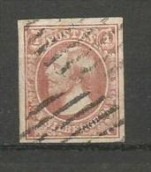 1852 - Yvert N° 2 Oblitéré - Tres Belles Marges - TTBeau - ENVOI GRATUIT - 1852 Guillaume III