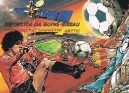Guinea Bissau Hb Michel 222B - Copa Mundial