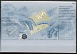 (us)  - ITALIA -  COUPON-REPONSE INTERNATIONAL - Anno 2007(ann.centenario) - 6. 1946-.. Republic
