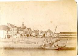Le Croisic,bretagne,port,voiliers, - Alte (vor 1900)
