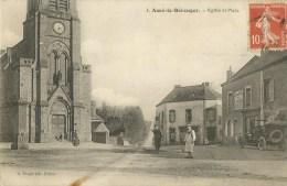 Assé-le-Bérenger (53.Mayenne) Eglise Et Place - Sonstige Gemeinden