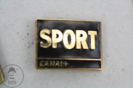 Sport TV Channel - Enamel Pin Badge #PLS - Medios De Comunicación
