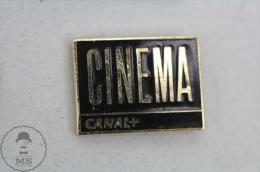 Cinema TV Channel - Enamel Pin Badge #PLS - Medios De Comunicación