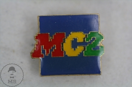 MC2 - Advertising Pin Badge #PLS - Medios De Comunicación