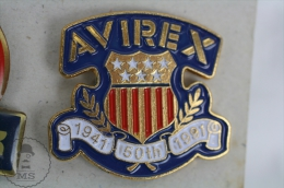 AVIREX 50th Anniversary - Advertising Pin Badge #PLS - Marcas Registradas