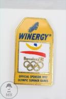 Olympic Games Barcelona 1992 - Winergy Advertising - Pin Badges #PLS - Juegos Olímpicos