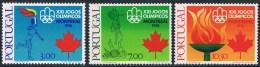 Portugal - Jeux Olympiques De Montréal 1299/1301 ** - Ete 1976: Montréal